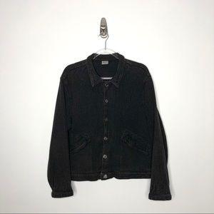 CP Shades   Boxy Button Front Shirt Jacket Medium
